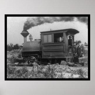 Locomotora en la gama 1903 de Mesabi Impresiones