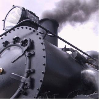 locomotora esculturas fotográficas