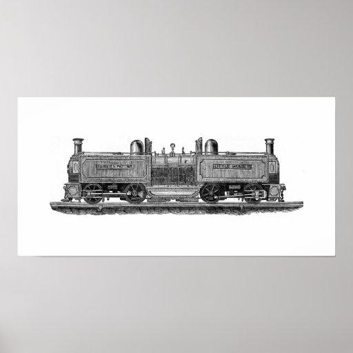 Locomotora ferroviaria de Festiniog Posters