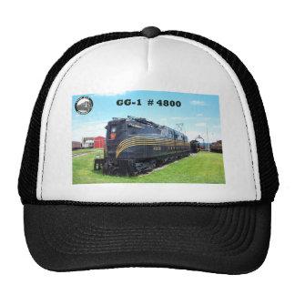 Locomotora GG-1 #4800 -2- del ferrocarril de Gorros Bordados