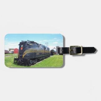Locomotora GG-1 #4800 del ferrocarril de Etiquetas Para Maletas