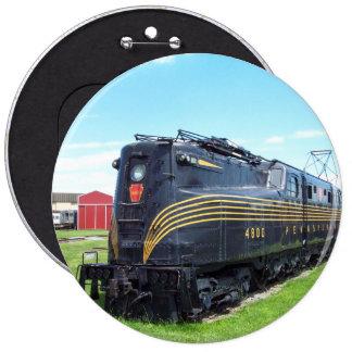 Locomotora GG-1 #4800 del ferrocarril de Pin Redondo De 6 Pulgadas