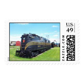 Locomotora GG-1 #4800 del ferrocarril de Franqueo