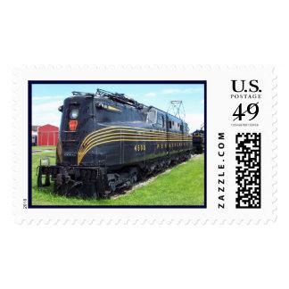 Locomotora GG-1 #4800 del ferrocarril de Timbre Postal