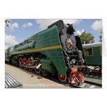 Locomotora, locomotora de vapor soviética P36-0001 Tarjeton