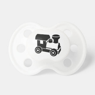 Locomotora modelo del ferrocarril chupetes para bebes