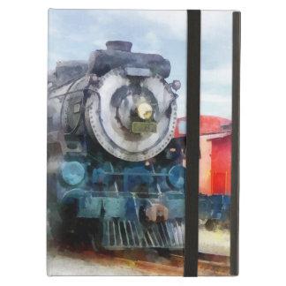 Locomotora y Caboose