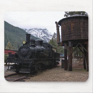 Locomotora y torre de Shay Alfombrilla De Ratones