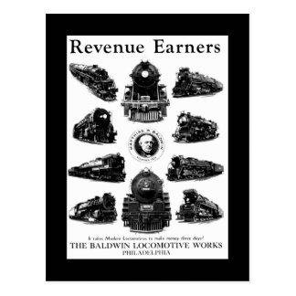 Locomotoras de Baldwin, adquirentes de los Postal