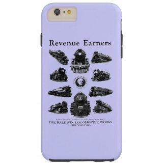 Locomotoras de Baldwin, caja del teléfono de los Funda De iPhone 6 Plus Tough