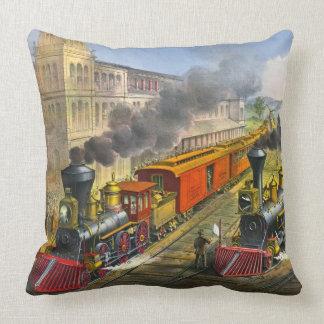 Locomotoras de vapor 1874 cojín
