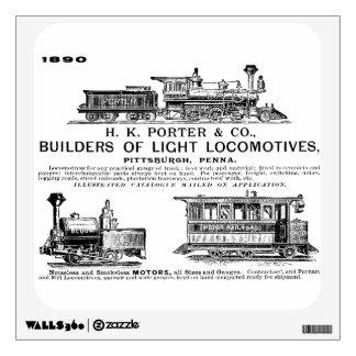 Locomotoras del ferrocarril de H K Porter & Compan