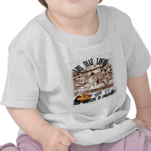 Locos del Los Díaz Camisetas