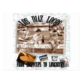 Locos del Los Díaz Tarjeta Postal