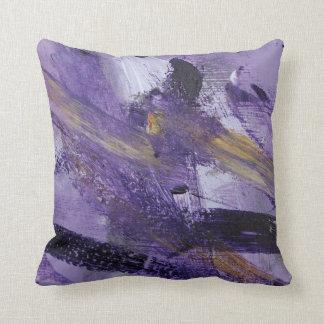 Locura abstracta de la púrpura de la pintura 41 cojines