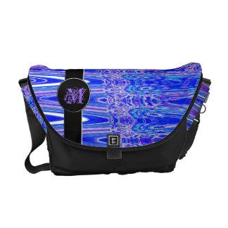 Locura azul bolsas de mensajería