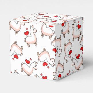 Locura de la llama cajas para regalos de boda