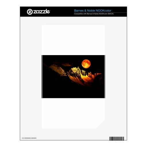 Locura del claro de luna skins para NOOK color