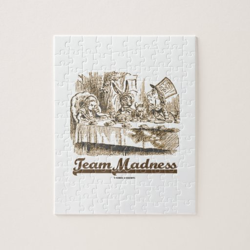 Locura del equipo (fiesta del té enojada del país rompecabezas