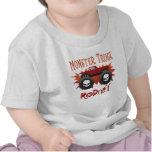Locura del monster truck camisetas