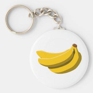 ¡Locura del plátano! Llavero Redondo Tipo Pin
