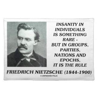 Locura en individuos algo Nietzsche raro Mantel