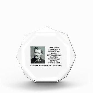 Locura en individuos algo Nietzsche raro