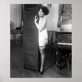 Locuras chica, los años 20 de Ziegfeld Póster