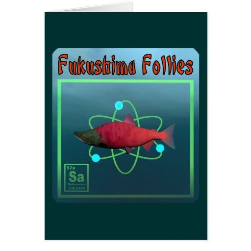Locuras de Fukushima Tarjetas