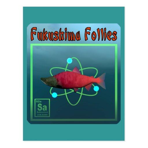Locuras de Fukushima Tarjetas Postales
