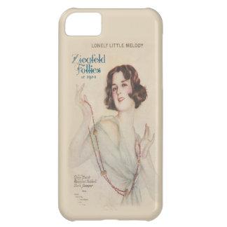 Locuras de Ziegfeld del chica 1924 de la aleta del Funda Para iPhone 5C