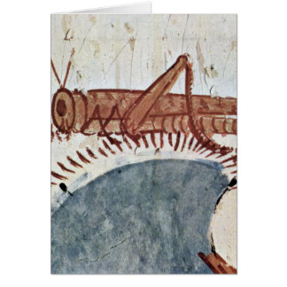 Locust By Painter Of The Grave Chamber Greeting Card