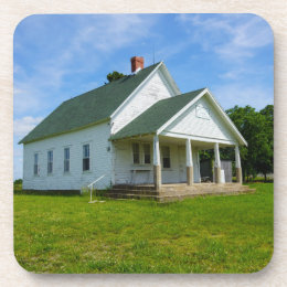 Locust Prairie School Drink Coaster
