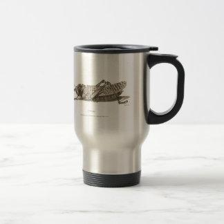 Locust print mugs