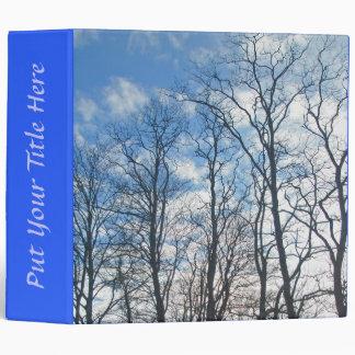 Locust Trees in Winter Binder