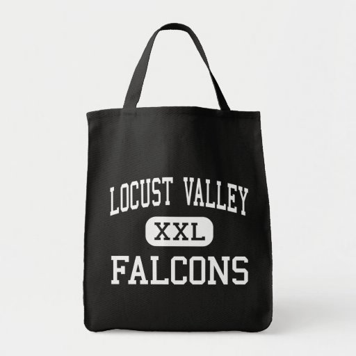 Locust Valley - Falcons - High - Locust Valley Grocery Tote Bag