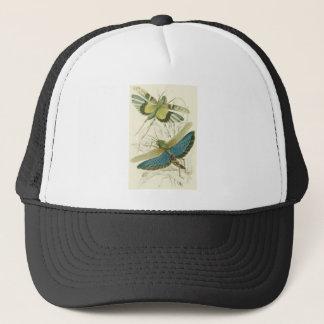 Locusta Cristata (lower), Locusta flava (upper) Trucker Hat