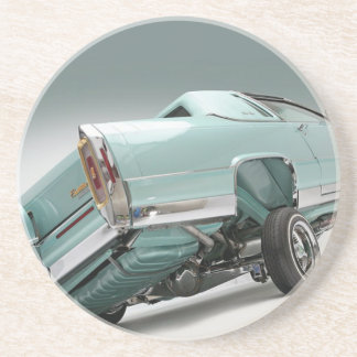 LoCusts - Lowrider 'n Custom Cars Drink Coaster