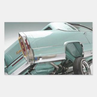 LoCusts - Lowrider 'n Custom Cars Rectangular Sticker