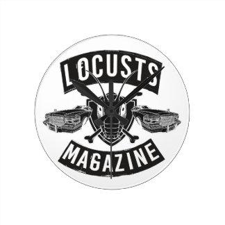 LoCusts - Lowrider 'n Custom Cars Round Clock