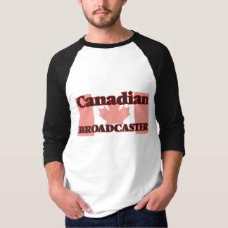 Locutor canadiense camisas