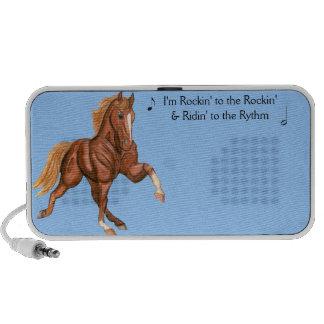 Locutor de Rockin del caballo de Tennessee que cam Altavoz