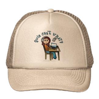 Locutor (luz) gorras