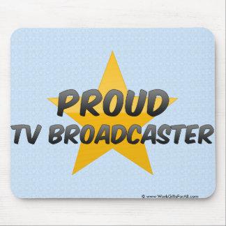 Locutor orgulloso de la TV Alfombrilla De Raton