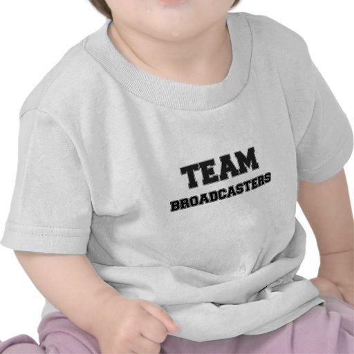 Locutores del equipo camisetas