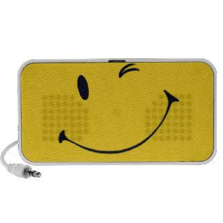 Locutores felices de la música sistema altavoz