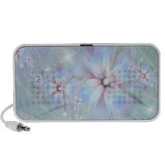 Locutores susurrantes de la lila iPod altavoces