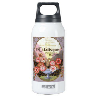 l'Odalisque Perfume Label Insulated Water Bottle