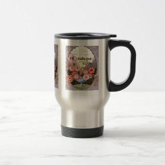 l'Odalisque Perfume Label Travel Mug
