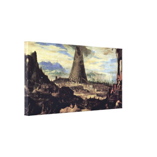 Lodewijk Toeput - Tower of Babel Canvas Print